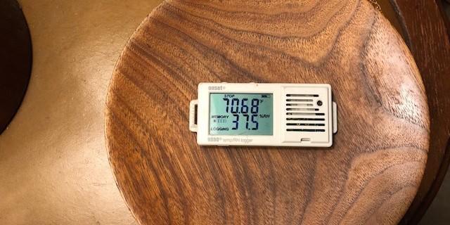 Low indoor relative humidity in winter is common